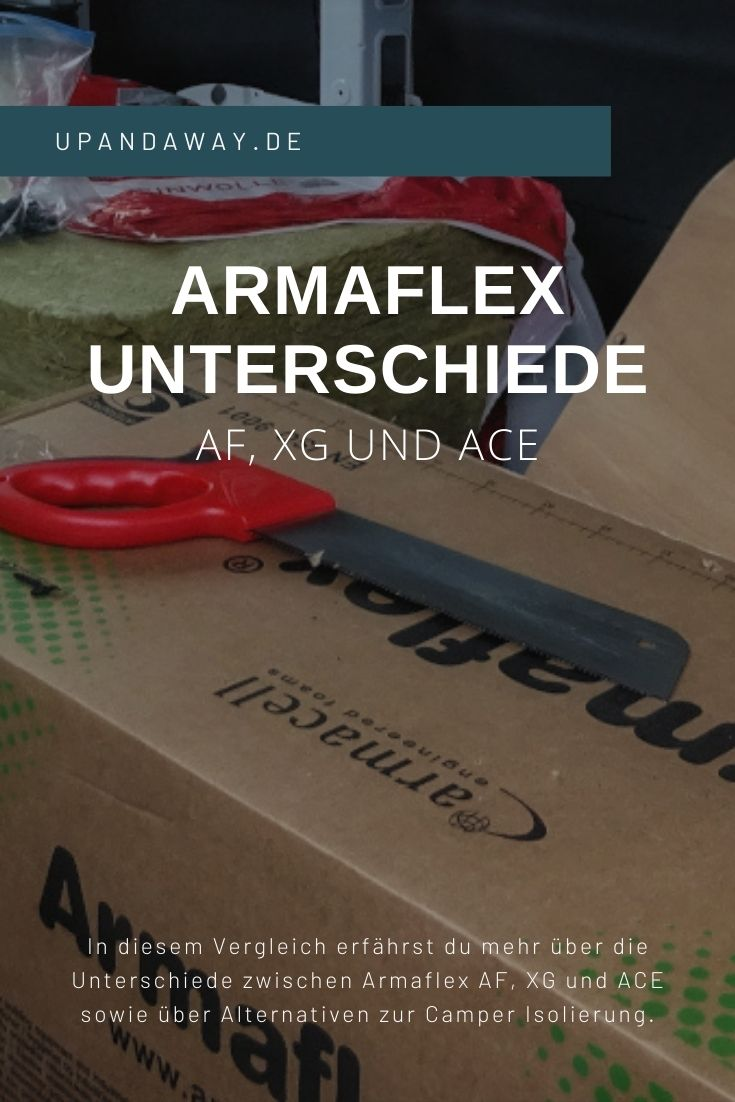 Unterschiede zwischen Armaflex AF, XG und ACE