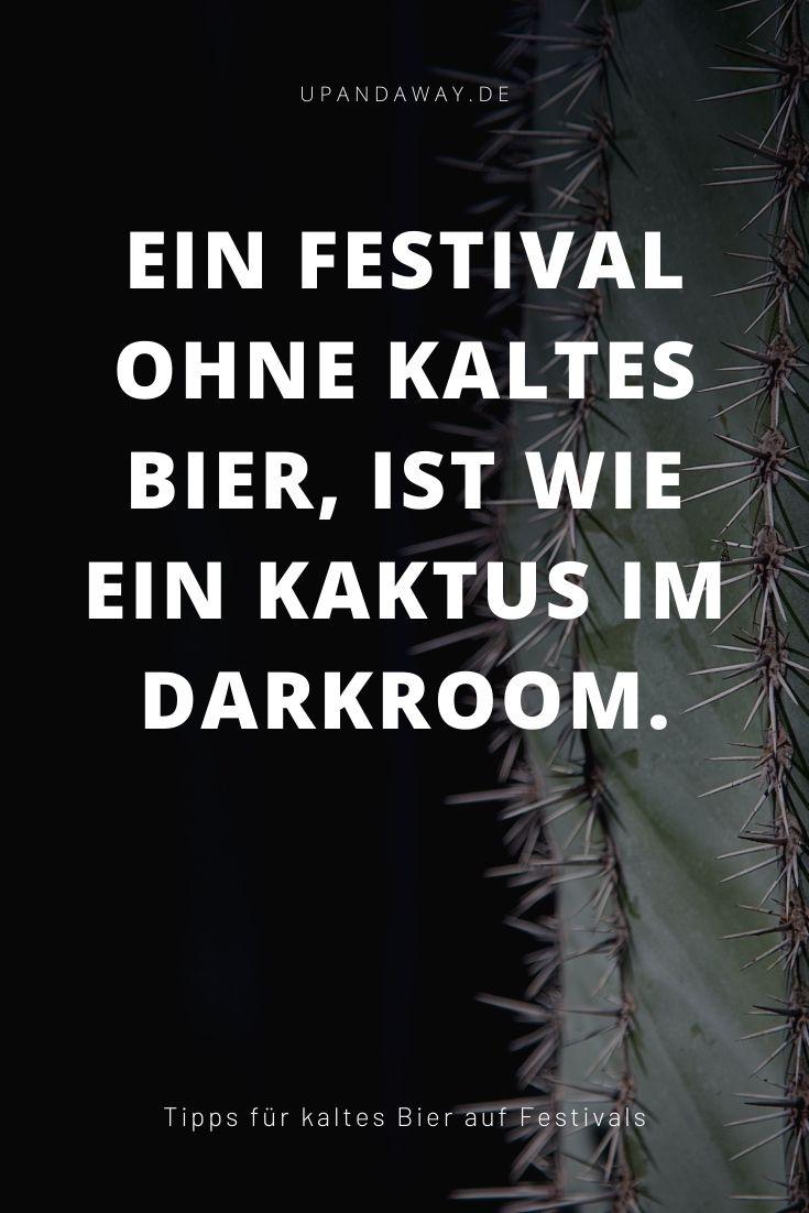 Auf deinem nächsten Festival Bier kühlen ohne Strom