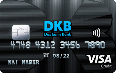 DKB Visa Card: Reisekreditkarte mit kostenlosem Girokonto