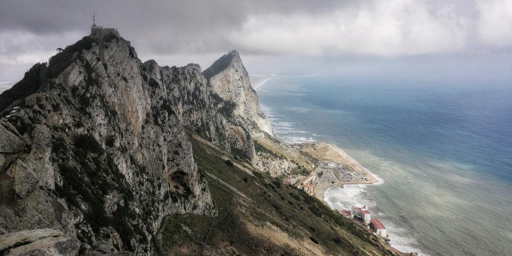 Felsen von Gibraltar - www.upandaway.de