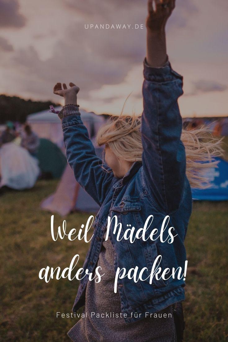 Die Festival Packliste für Frauen mit Tipps