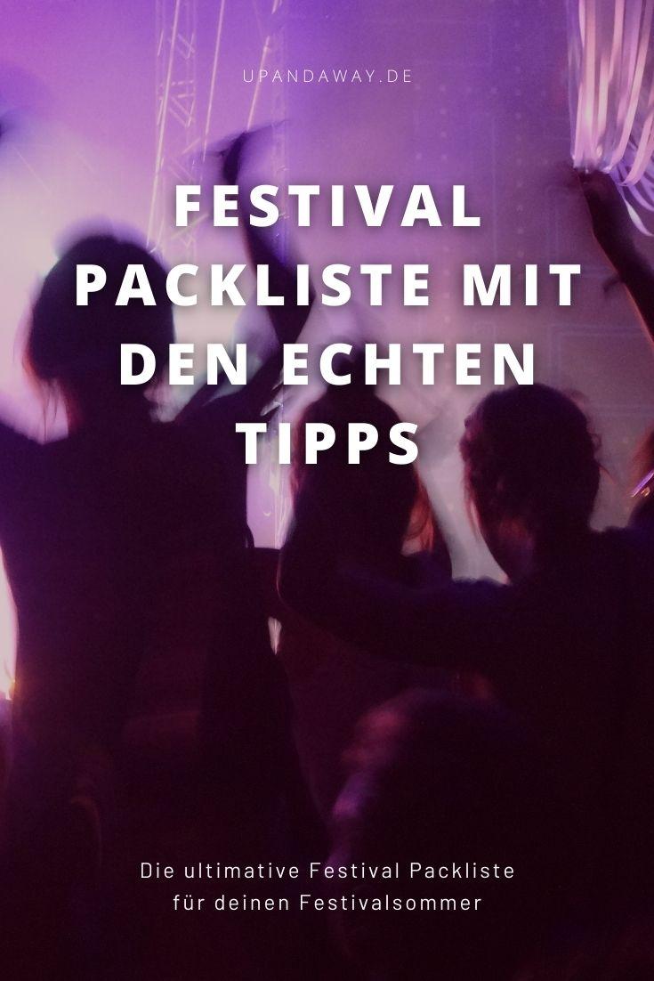 Die ultimative Festival Packliste mit den echten Tipps