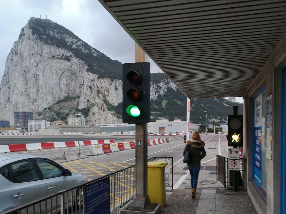 Gibraltar Einreise Grenzübergang - www.upandaway.de