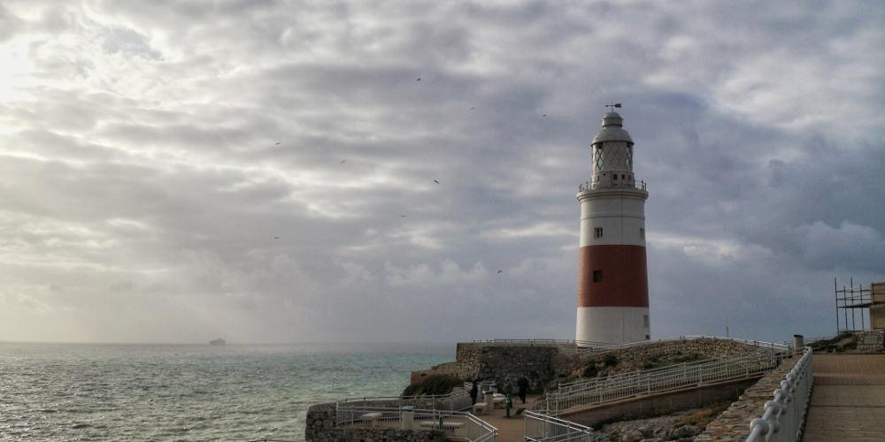 Gibraltar Leuchtturm - www.upandaway.de