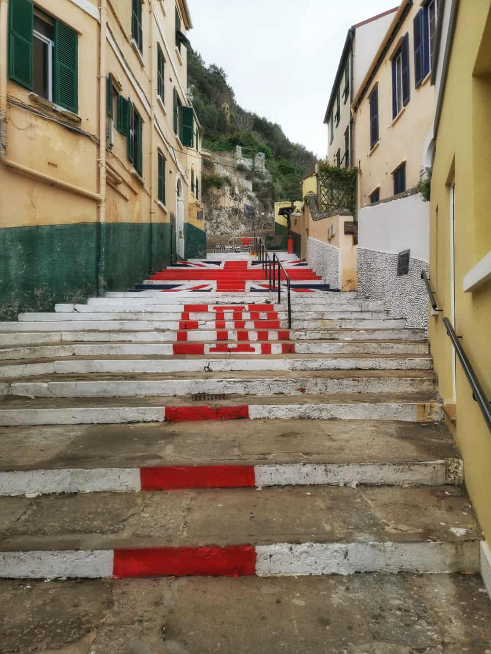 Gibraltar Library Steps - upandaway.de
