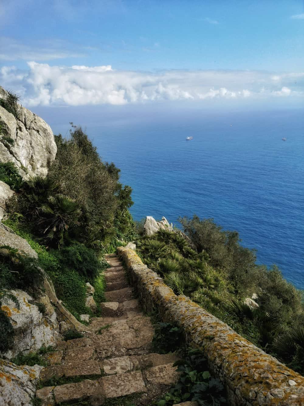 Gibraltar Mediterranean Steps - www.upandaway.de