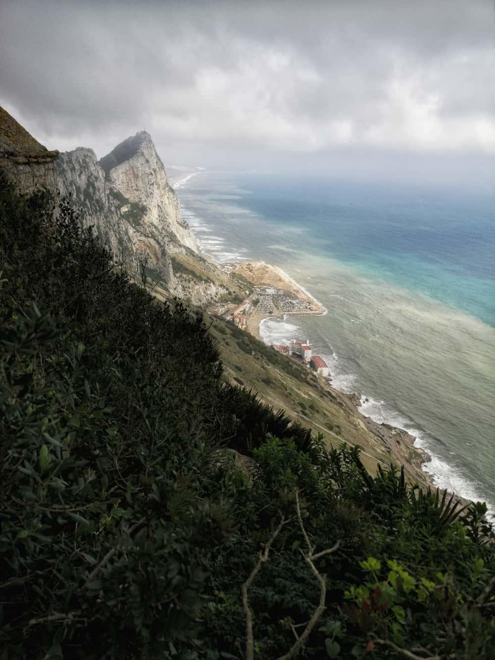 Gibraltar Aussicht Mediterranean Steps - www.upandaway.de