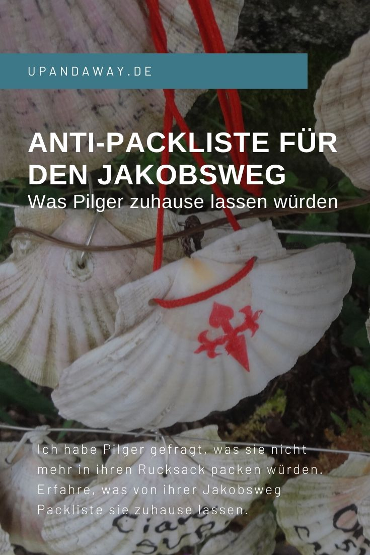 Anti-Packliste für den Jakobsweg
