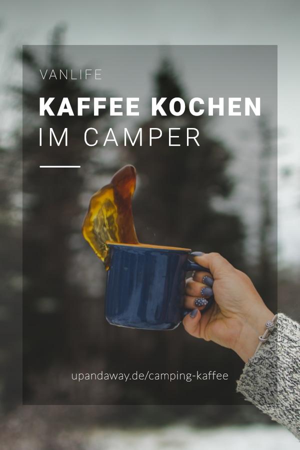 Kaffee kochen: So gelingt dein Kaffee beim Camping ohne Strom