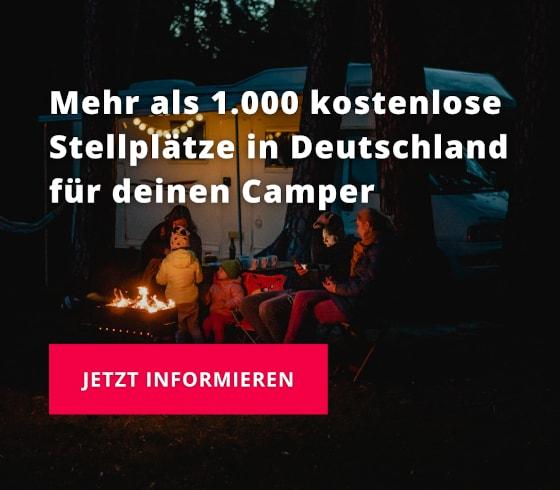 Landvergnügen Stellplatzführer Deutschland 2021