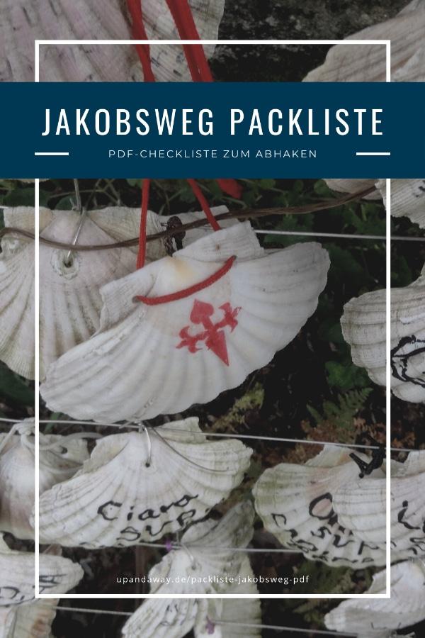 PDF Packliste für den Jakobsweg zum Abhaken