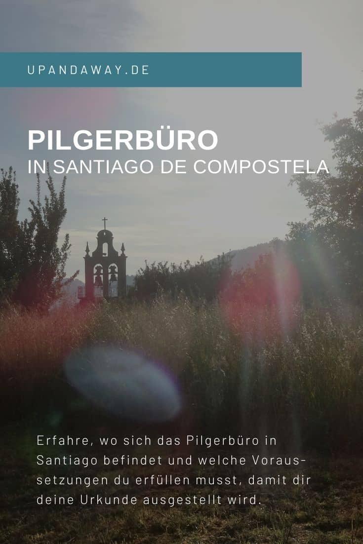 Wo du dir im Pilgerbüro in Santiago deine Compostela abholen kannst