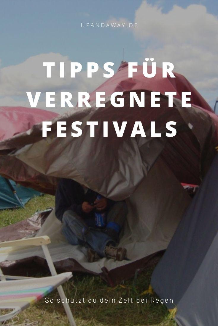 Tipps für Festivals bei Regen
