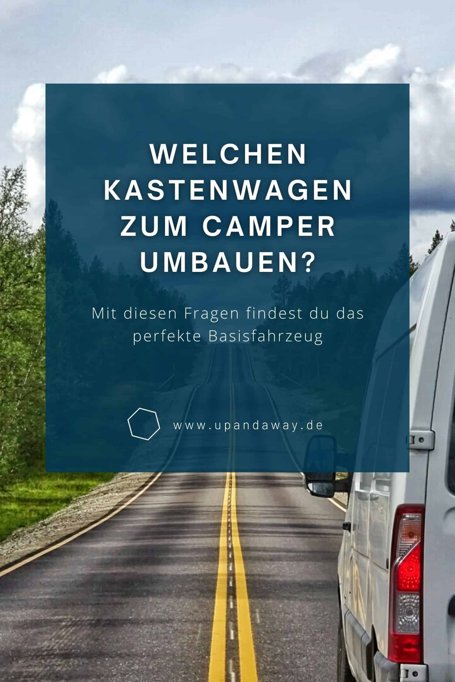 Welchen Transporter zum Wohnmobil umbauen?