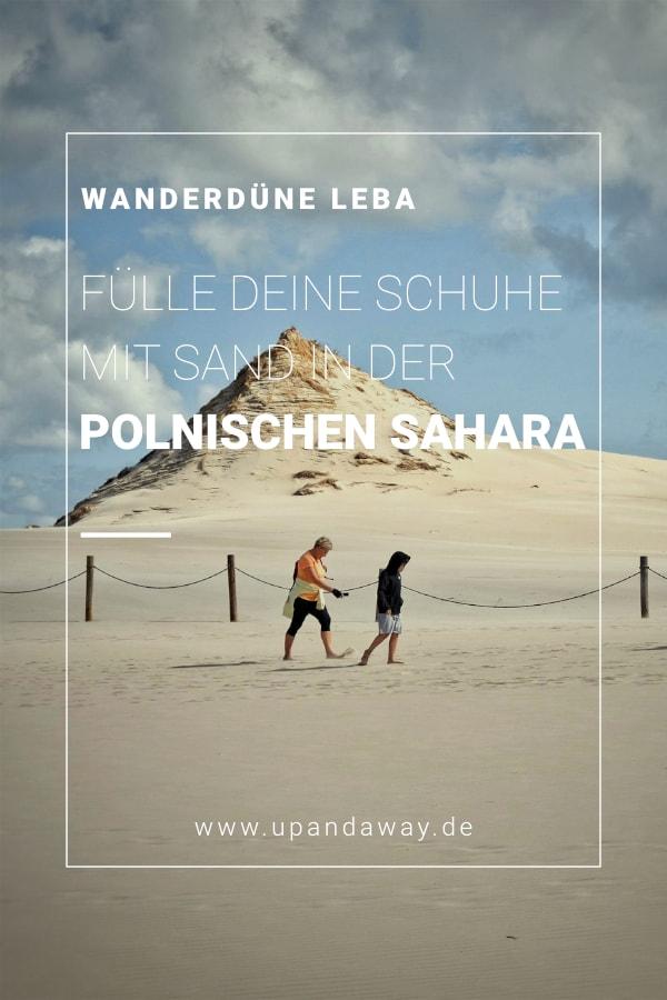 Leba Wanderdüne in Polen