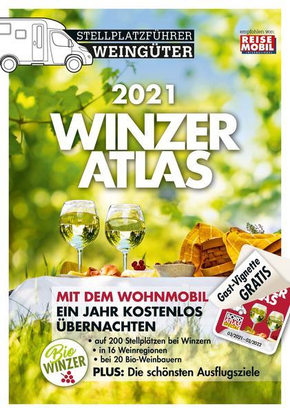 Winzeratlas Stellplatzführer für Wohnmobile in Deutschland